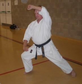 Kenny Davis 7th Dan Shotokan Karate Glasgow Zanshin Kai