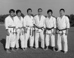Sensei Tomita, Sensei Tsuyama, Sensei Enoeda, Sensei Kon, Sensei Kawazoe, Sensei Hayakawa