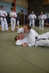 Sensei Davis explaining the drill